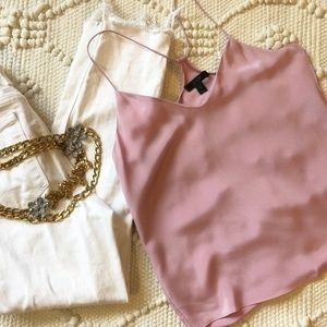 J. Crew Carrie Cami in Lavender